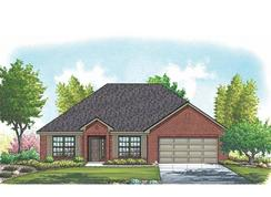 Taylor II - Mountain Valley Lake: Burleson, Texas - Homes By Towne - TX