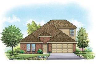 Benton II - Mountain Valley Lake: Burleson, Texas - Homes By Towne - TX