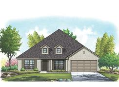 Pierce II - Mountain Valley Lake: Burleson, Texas - Homes By Towne - TX