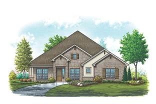 Bristol - Mountain Valley Lake: Burleson, Texas - Homes By Towne - TX