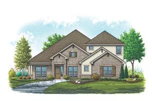Bristol II - Mountain Valley Lake: Burleson, Texas - Homes By Towne - TX