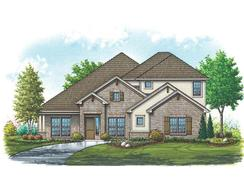Bristol IV - Mountain Valley Lake: Burleson, Texas - Homes By Towne - TX