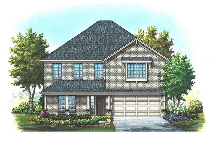Exterior featured in the Williamson By Homes By Towne - TX in Fort Worth, TX