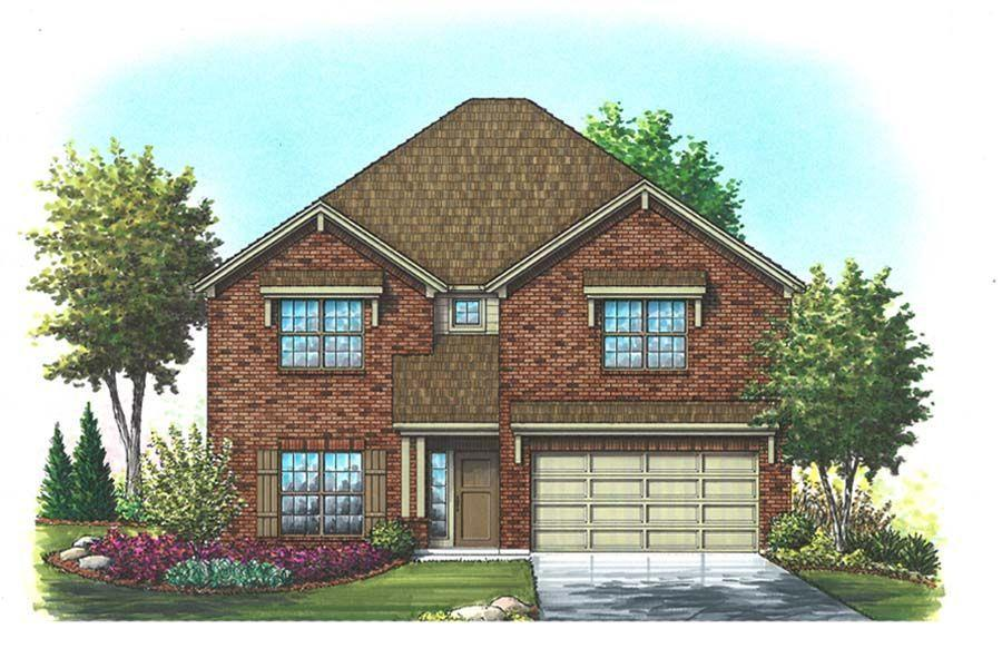Exterior featured in the Williamson II By Homes By Towne - TX in Fort Worth, TX
