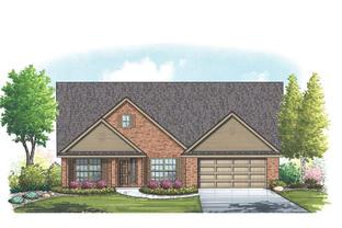 Rockport II - Mountain Valley Lake: Burleson, Texas - Homes By Towne - TX
