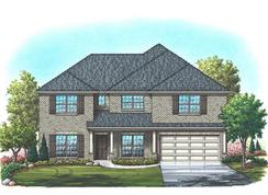 Alexander - Mountain Valley Lake: Burleson, Texas - Homes By Towne - TX