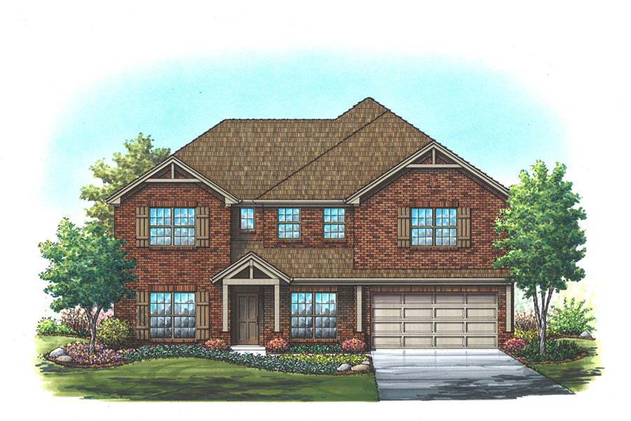 Exterior featured in the Alexander By Homes By Towne - TX in Fort Worth, TX