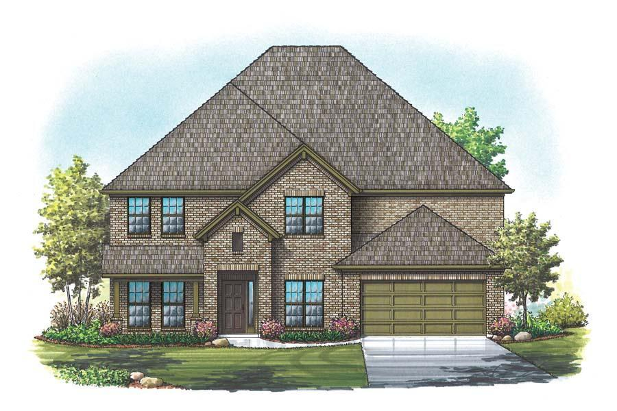 Exterior featured in the Kingston By Homes By Towne - TX in Fort Worth, TX