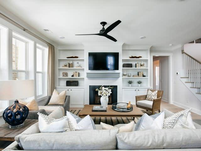 Living Area featured in the Mendenhall By Homes by Dickerson in Charleston, SC