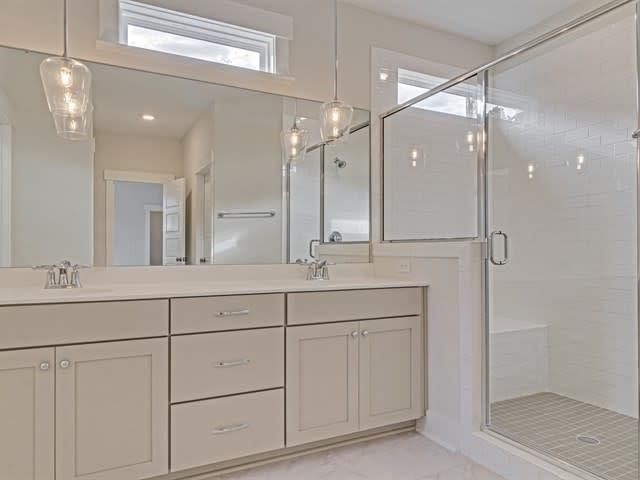 Bathroom featured in the Mendenhall By Homes by Dickerson in Charleston, SC