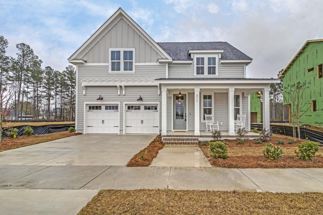 Exterior featured in the Mendenhall By Homes by Dickerson in Charleston, SC