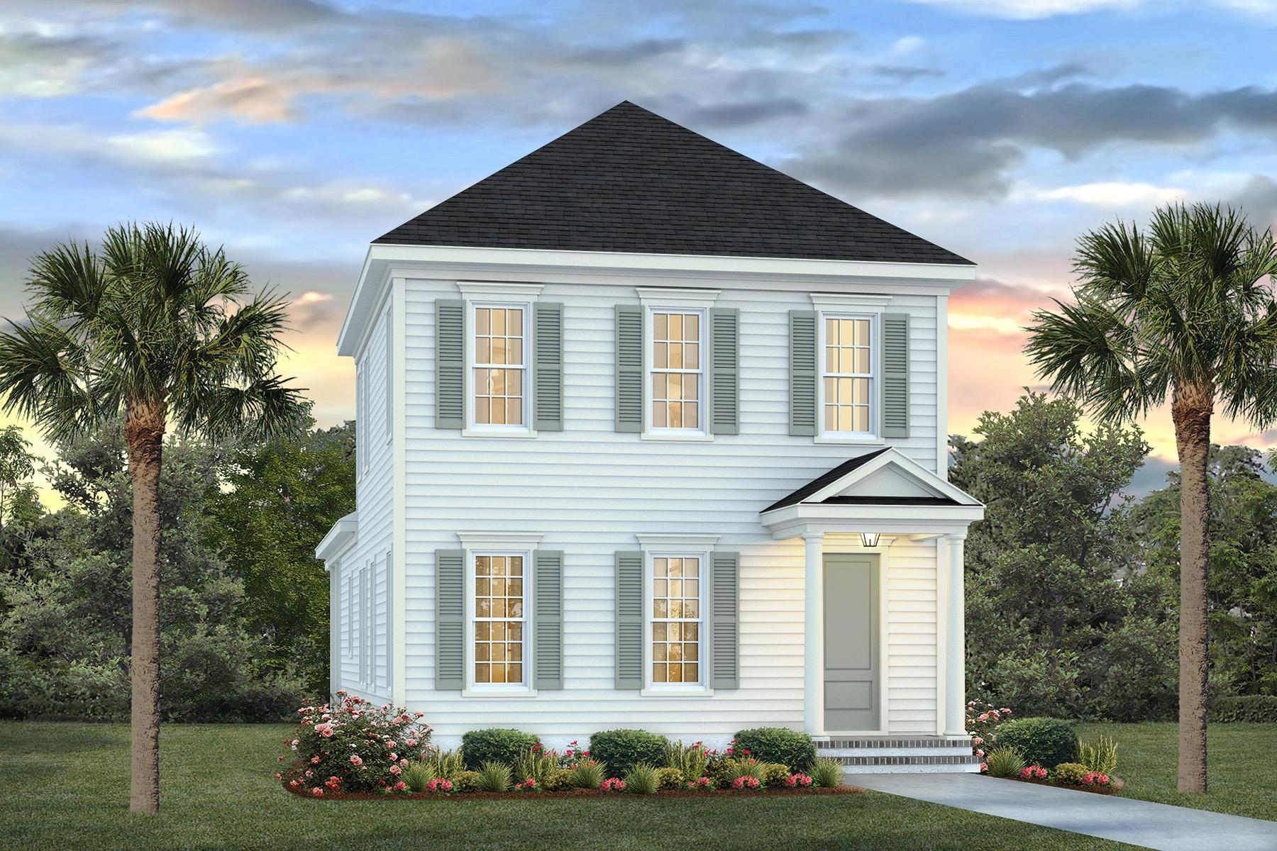 Exterior featured in the Rutledge By Homes by Dickerson in Charleston, SC