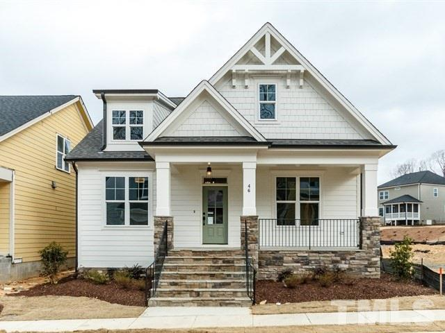 Exterior featured in the Oberlin By Homes by Dickerson in Raleigh-Durham-Chapel Hill, NC