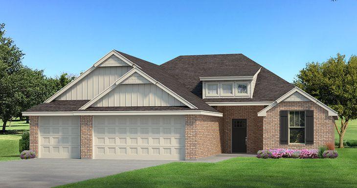 Homes by Taber Example of Hummingbird Floorplan