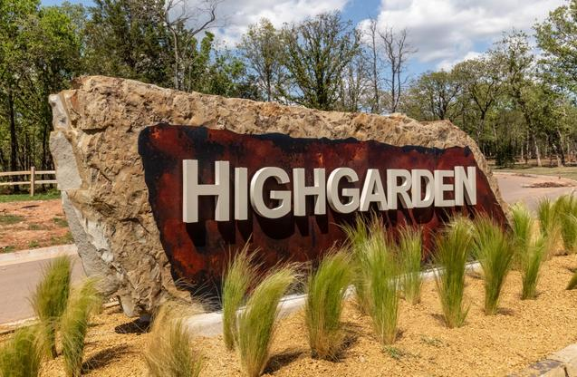 Homes by Taber North Edmond Community Highgarden