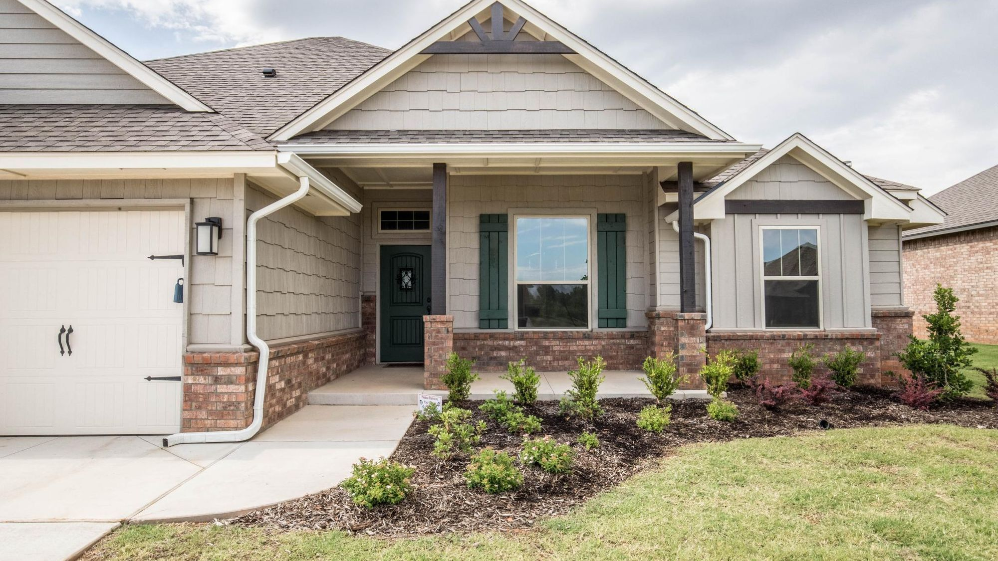 Exterior featured in the Cornerstone By Homes By Taber in Oklahoma City, OK