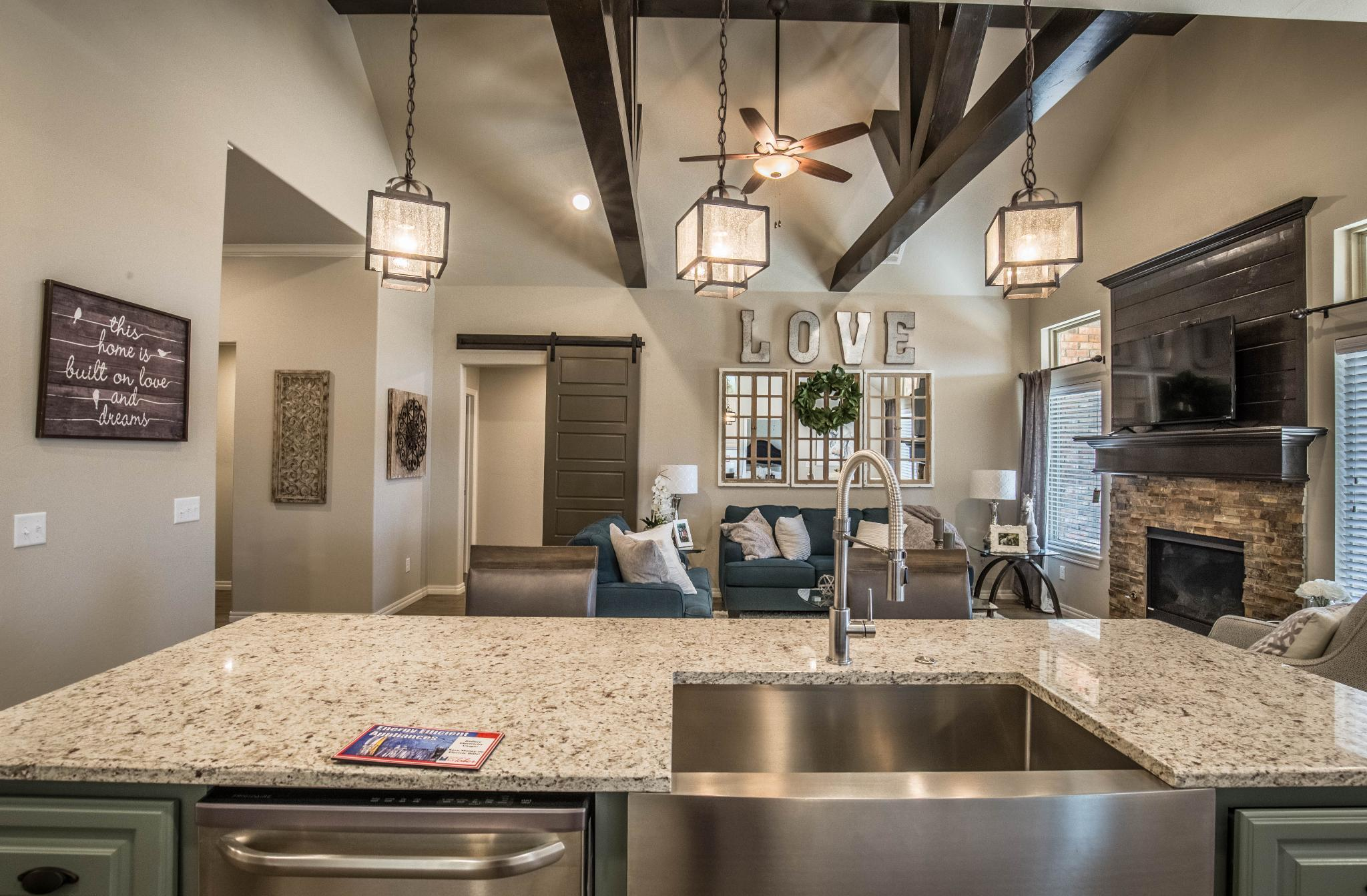 Kitchen featured in the Blue Spruce Bonus Room 1 By Homes By Taber in Oklahoma City, OK