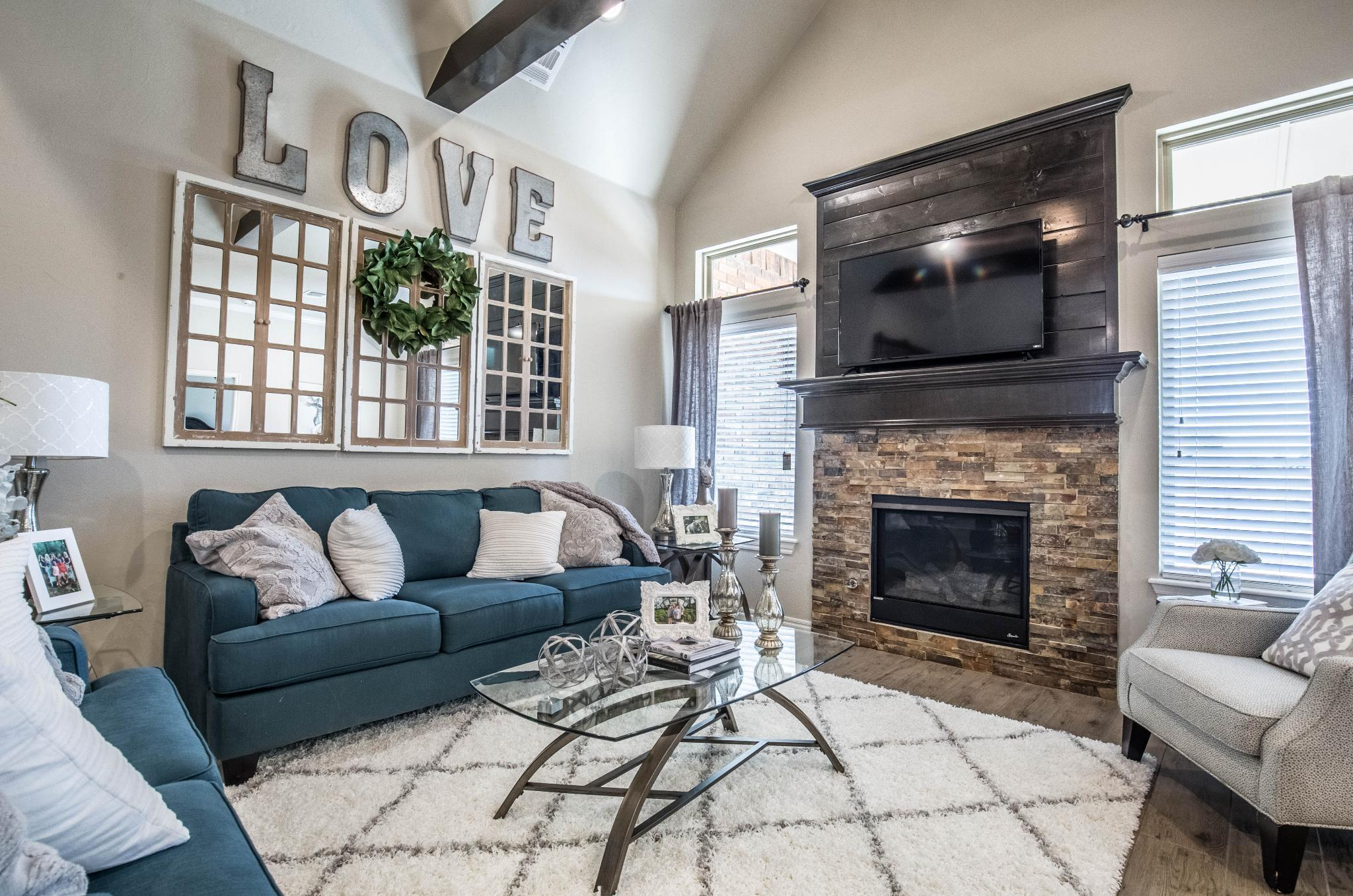 Living Area featured in the Blue Spruce Bonus Room 1 By Homes By Taber in Oklahoma City, OK