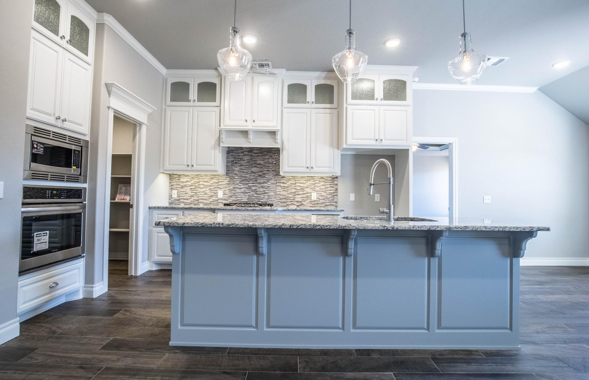 Kitchen featured in the Blue Spruce Bonus Room 2 By Homes By Taber in Oklahoma City, OK