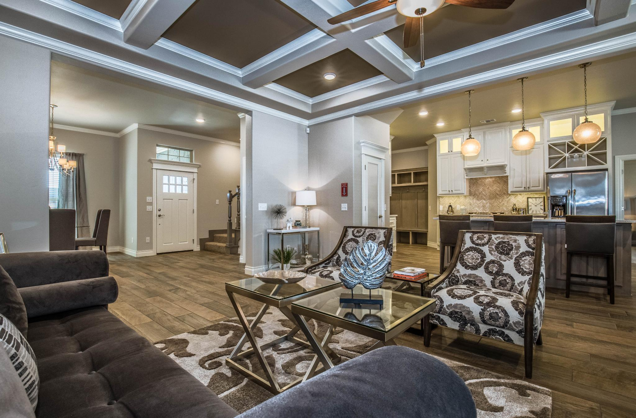 Living Area featured in the Cornerstone Bonus Room 2 By Homes By Taber in Oklahoma City, OK
