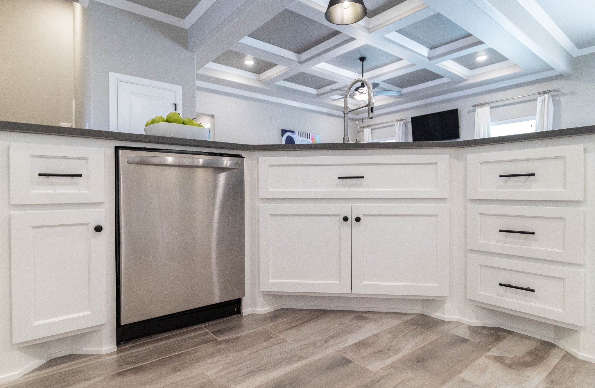 Kitchen featured in the Mallory Bonus Room By Homes By Taber in Oklahoma City, OK