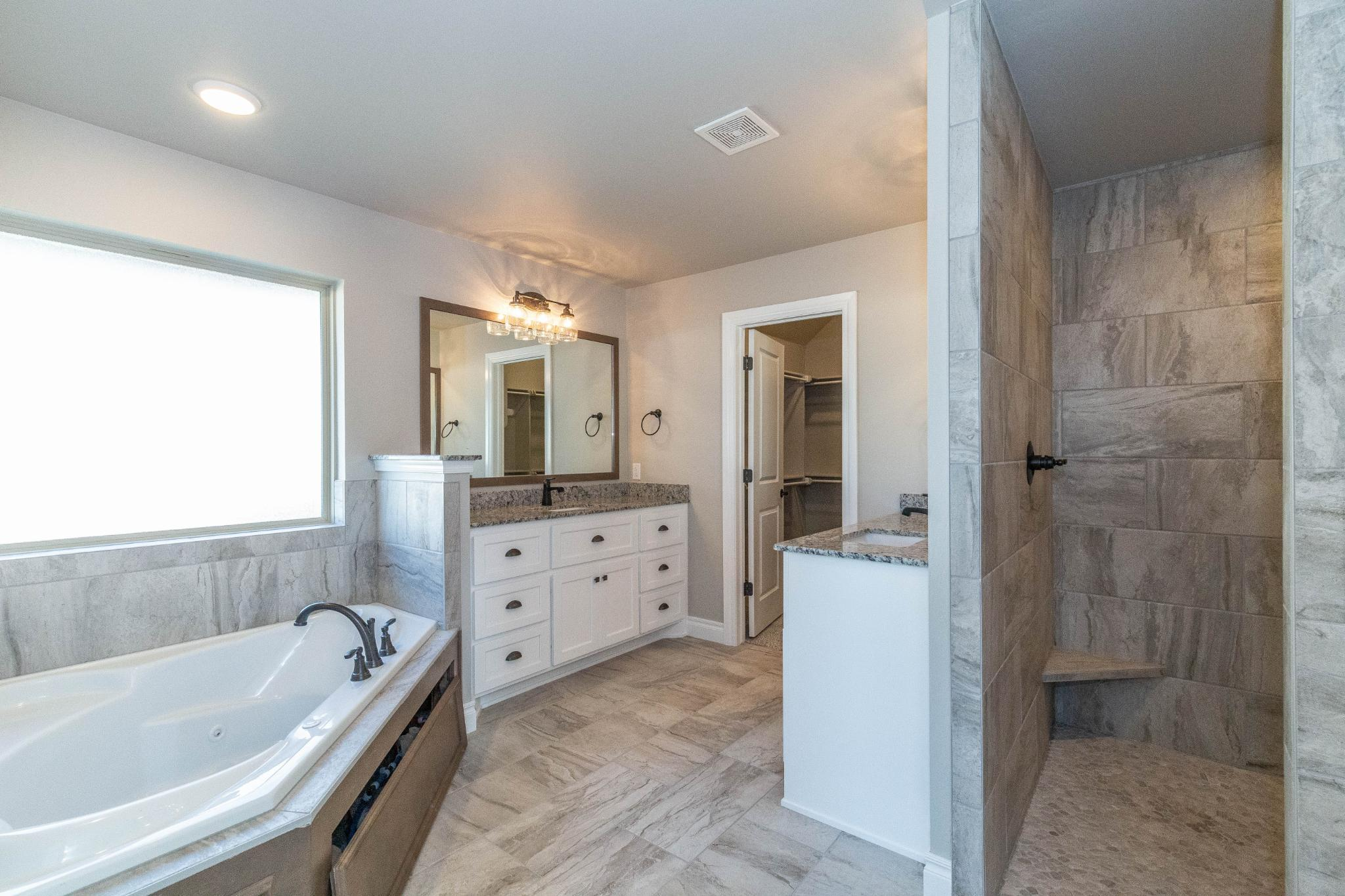 Bathroom featured in the Cornerstone Bonus Room - 5 Bedroom By Homes By Taber in Oklahoma City, OK
