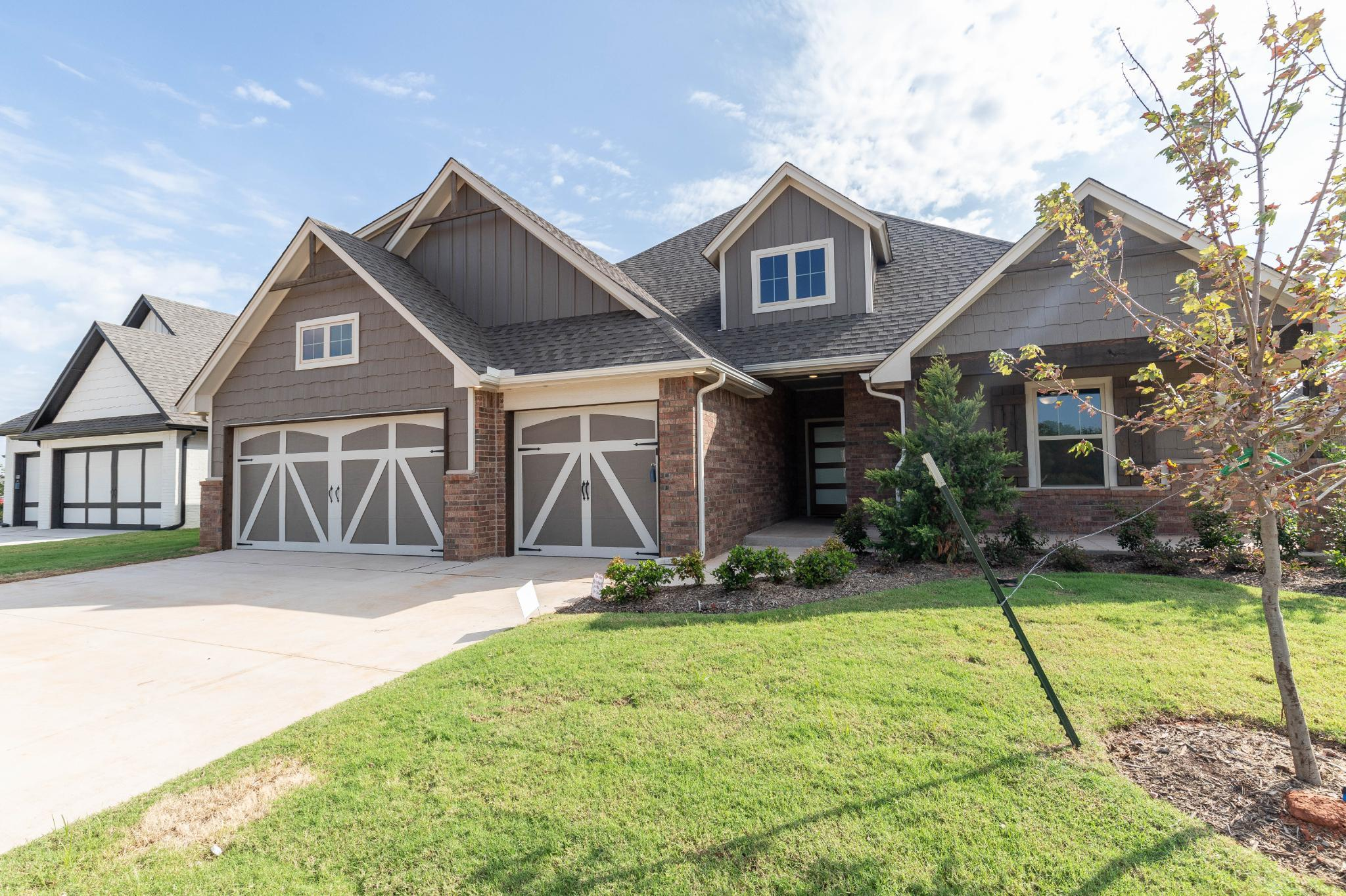 Exterior featured in the Blue Spruce Bonus Room 1 Plus By Homes By Taber in Oklahoma City, OK