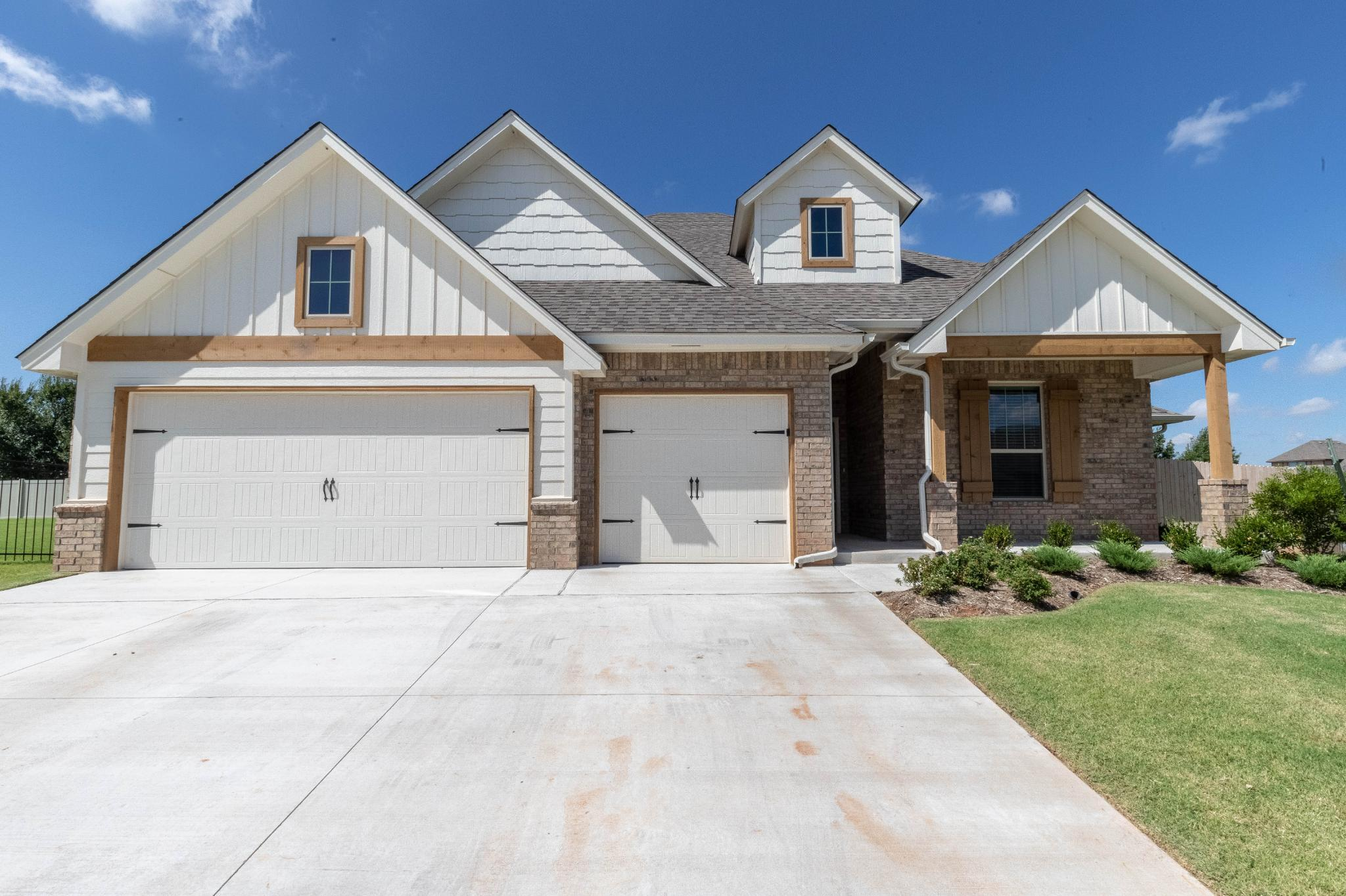 Exterior featured in the Hazel Bonus Room PLUS By Homes By Taber in Oklahoma City, OK
