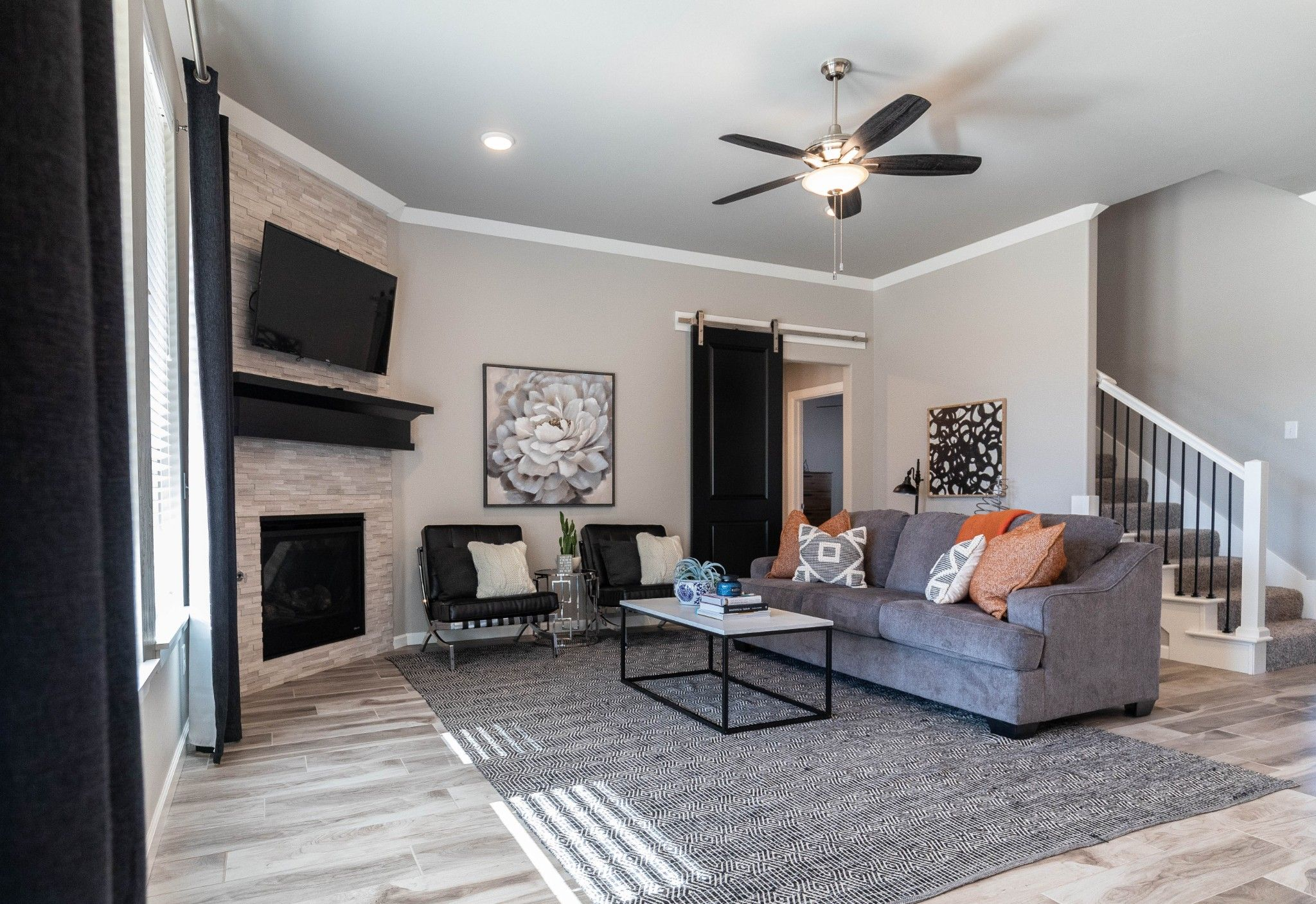 Living Area featured in the Hazel Bonus Room - 5 Bedroom By Homes By Taber in Oklahoma City, OK