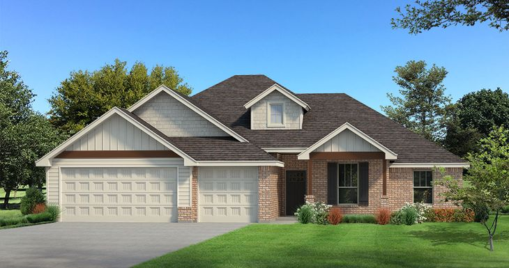 Homes by Taber Example of Hazel Floorplan
