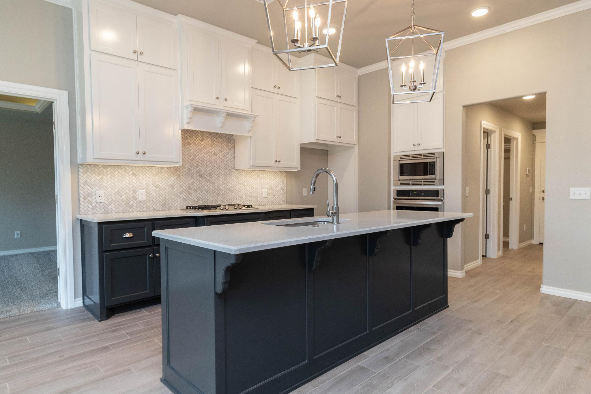 Kitchen featured in the Blue Spruce Half Bath PLUS By Homes By Taber in Oklahoma City, OK