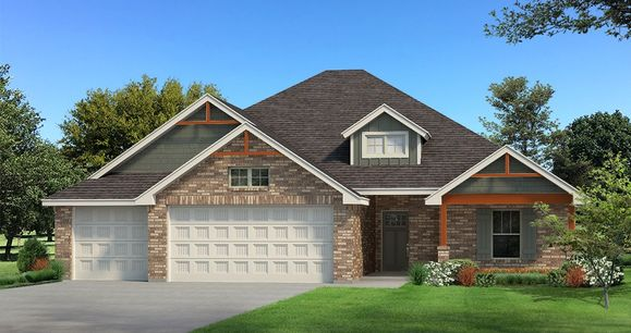 Homes by Taber Example of Blue Spruce PLUS Floorplan