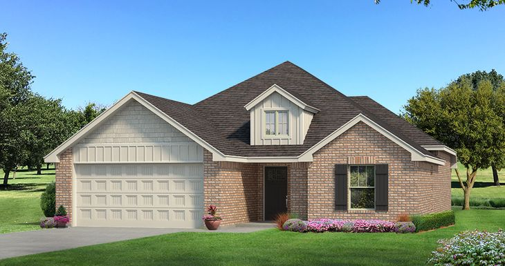 Homes by Taber Example of Drake Floorplan