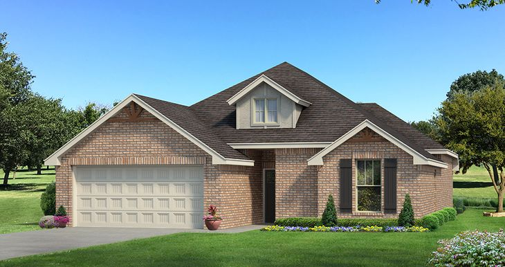 Homes by Taber Example of Teagen Floorplan