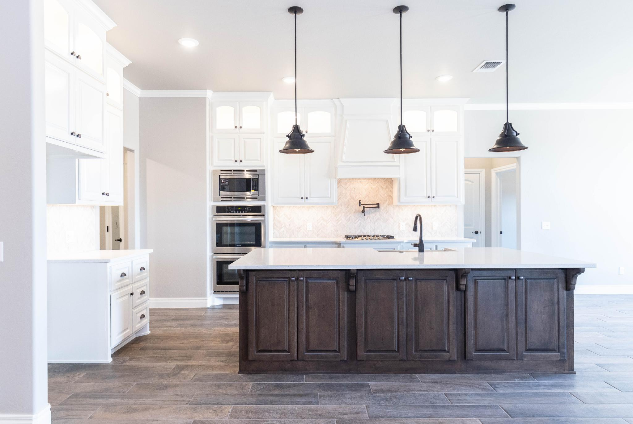 Kitchen featured in the Poppey Half Bath By Homes By Taber in Oklahoma City, OK