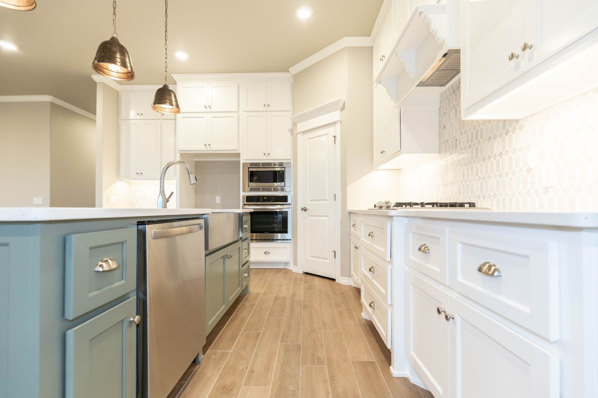Kitchen featured in the Hazel Plus By Homes By Taber in Oklahoma City, OK