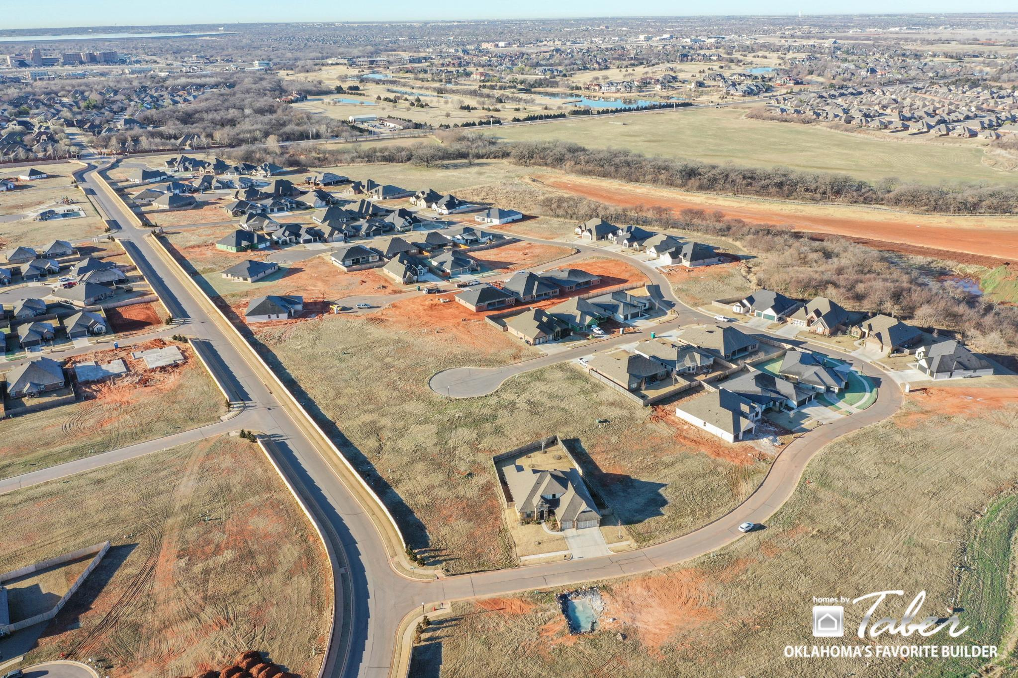 'Lone Oak Farms' by Homes By Taber in Oklahoma City