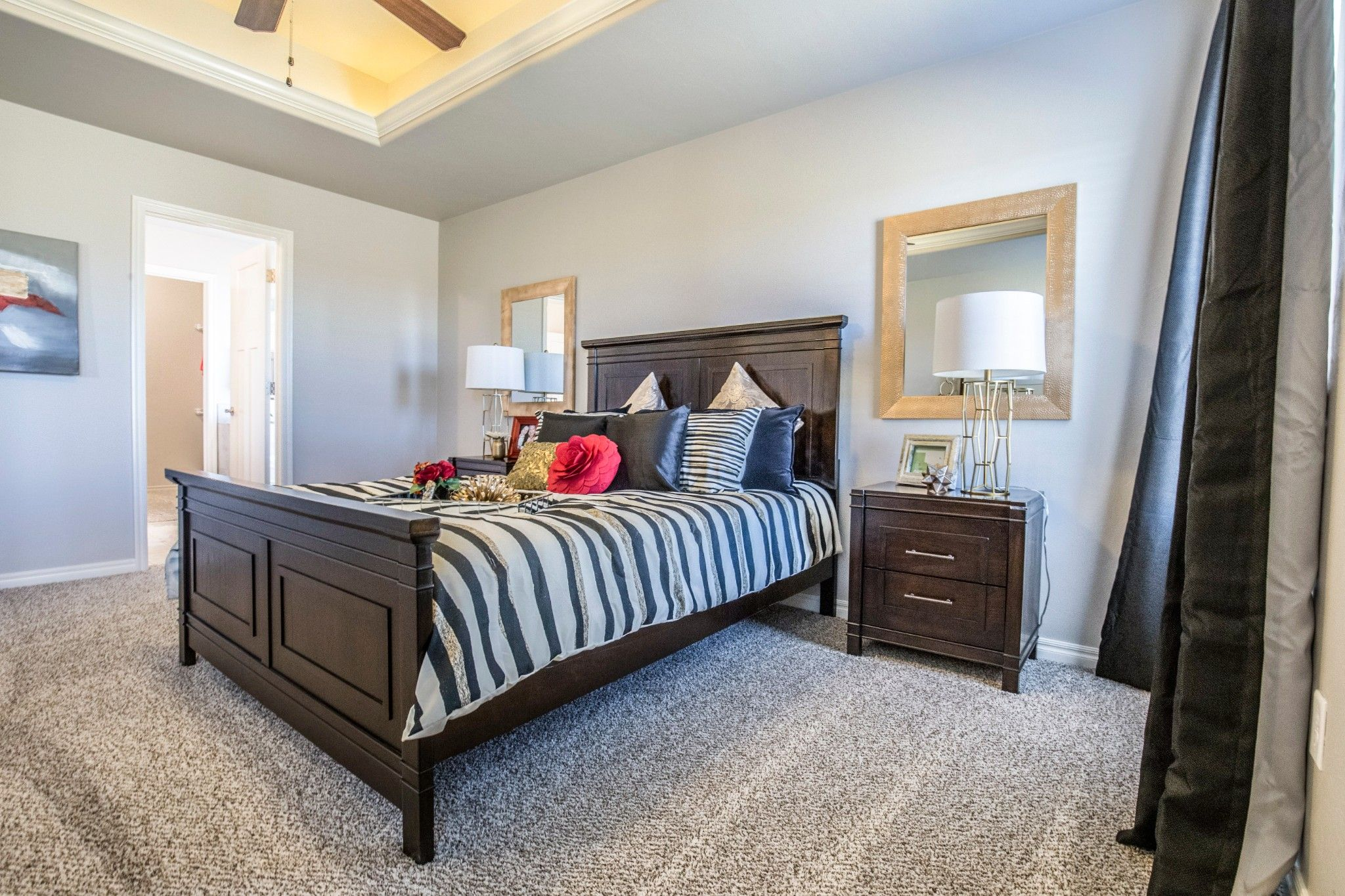 Bedroom featured in the Blue Spruce By Homes By Taber in Oklahoma City, OK