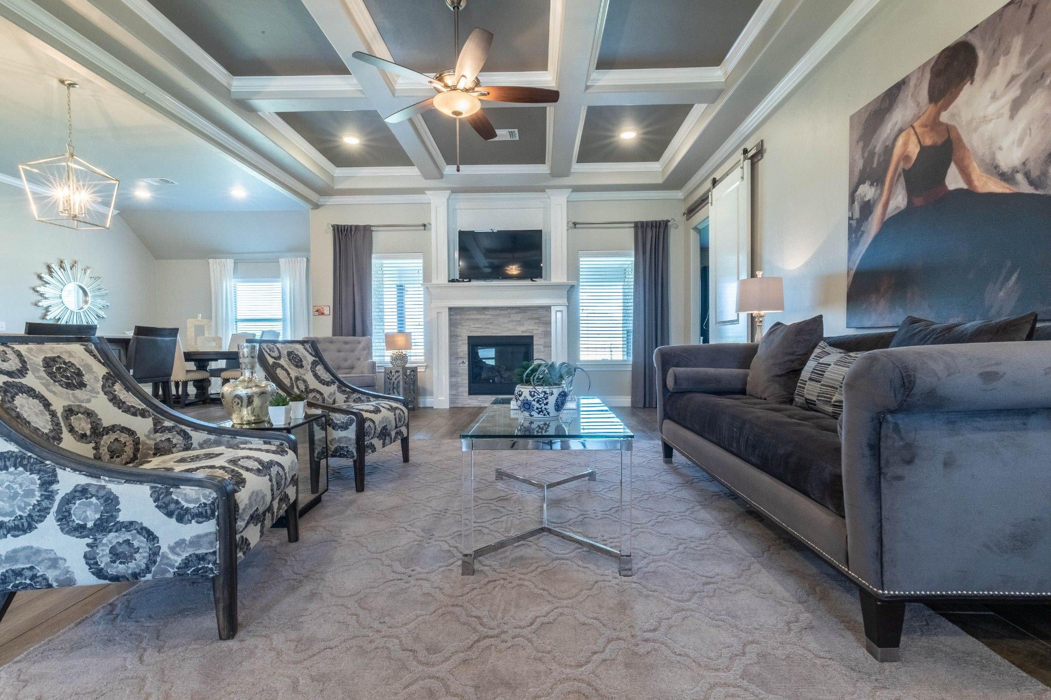 Living Area featured in the Cornerstone Bonus Room - 5 Bedroom By Homes By Taber