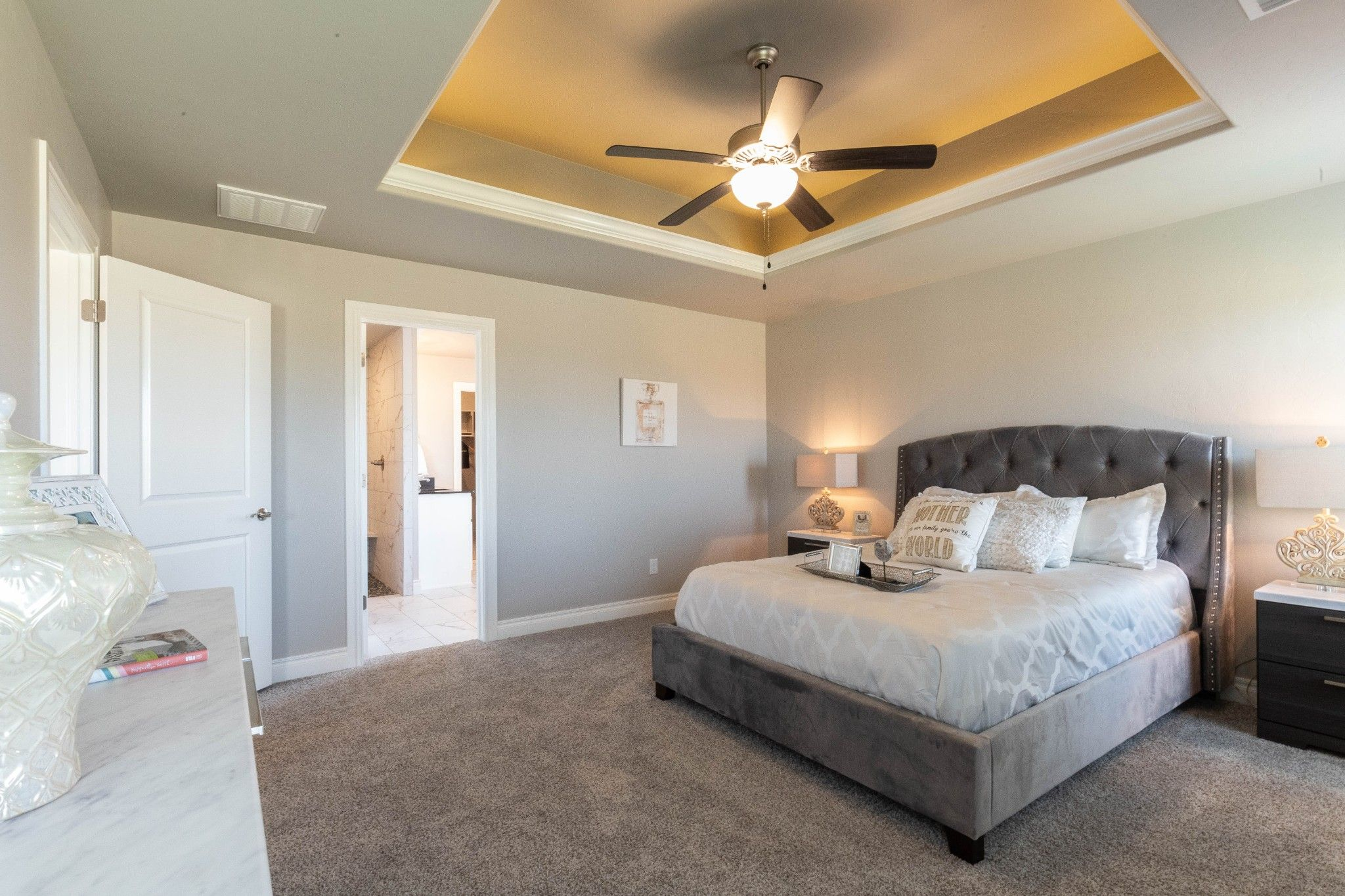 Bedroom featured in the Cornerstone Bonus Room - 5 Bedroom By Homes By Taber in Oklahoma City, OK