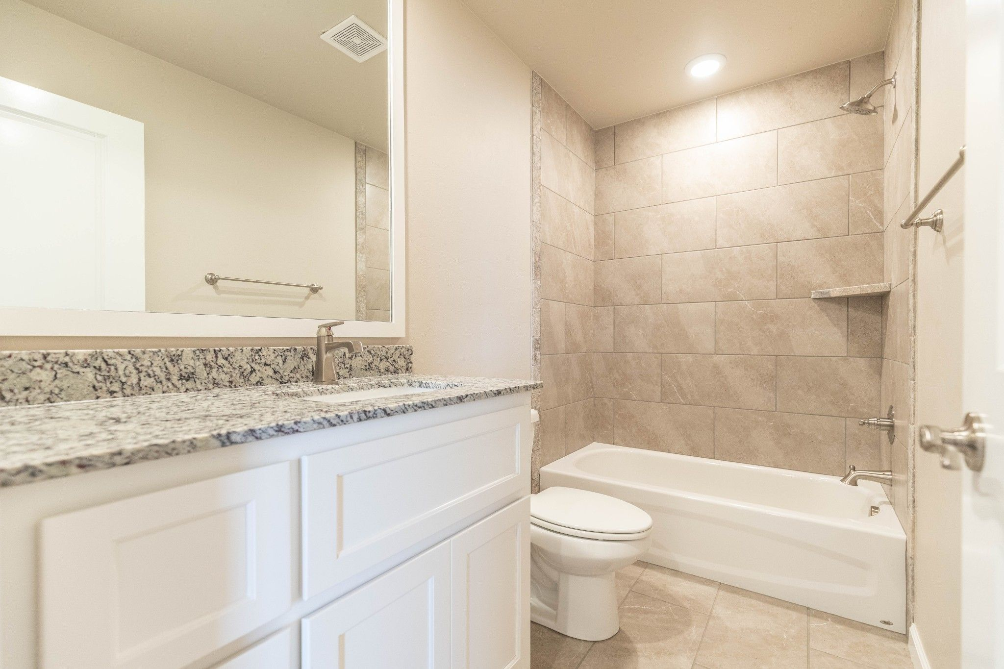 Bathroom featured in the Drake By Homes By Taber in Oklahoma City, OK