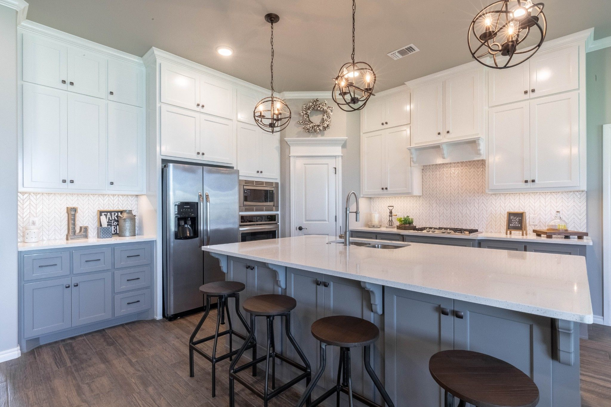 Kitchen featured in the Hazel Bonus Room PLUS By Homes By Taber in Oklahoma City, OK