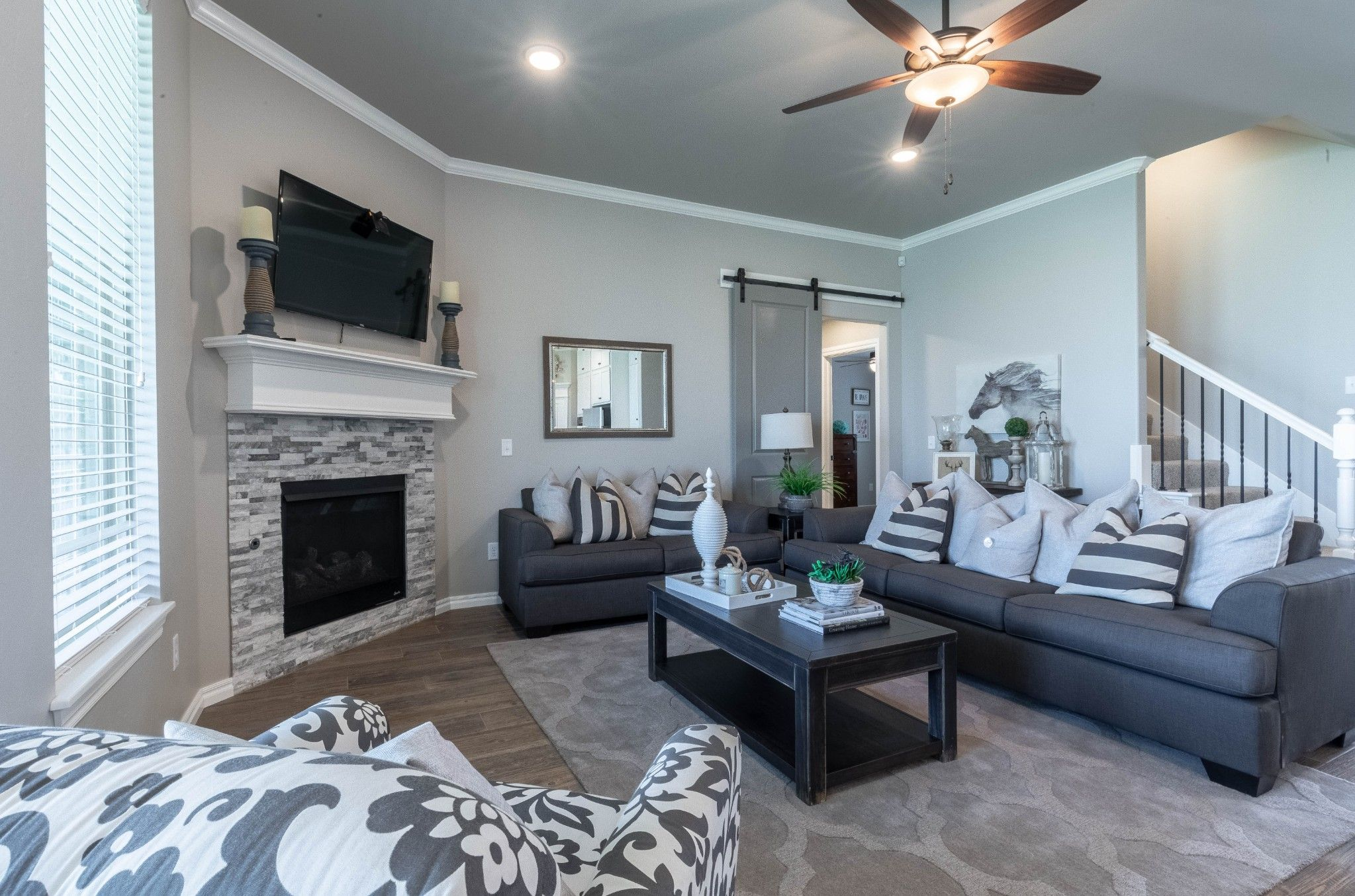 Living Area featured in the Hazel Bonus Room PLUS By Homes By Taber in Oklahoma City, OK