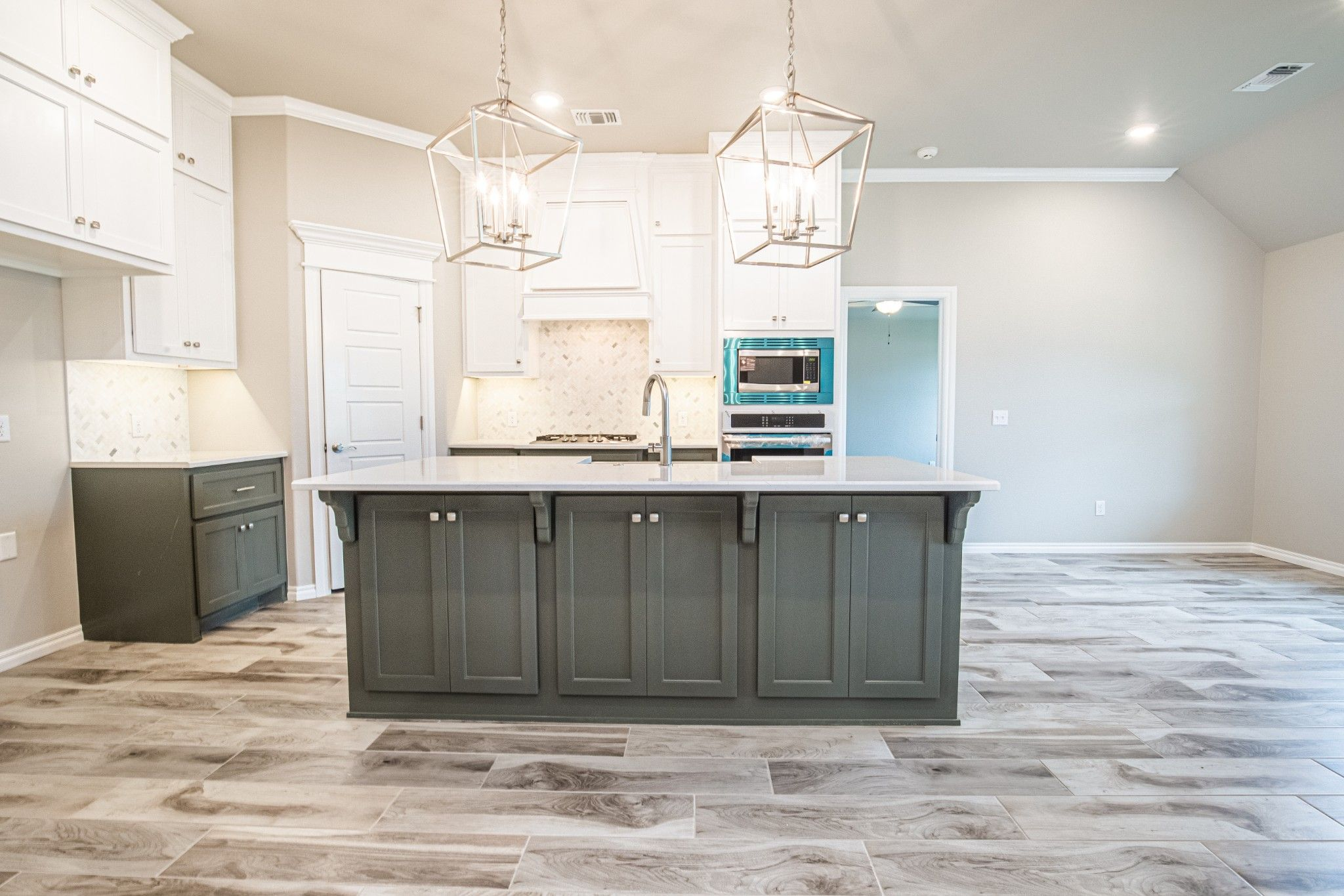 Kitchen featured in the Sage Bonus Room 2 By Homes By Taber in Oklahoma City, OK
