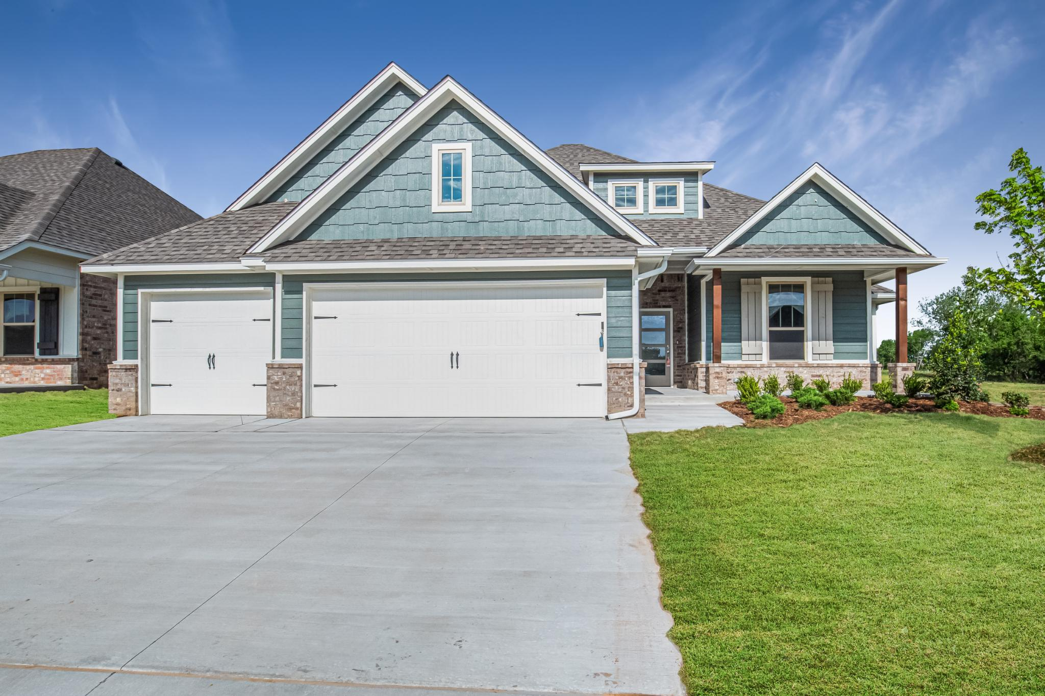 Exterior featured in the Sage Bonus Room 2 By Homes By Taber in Oklahoma City, OK