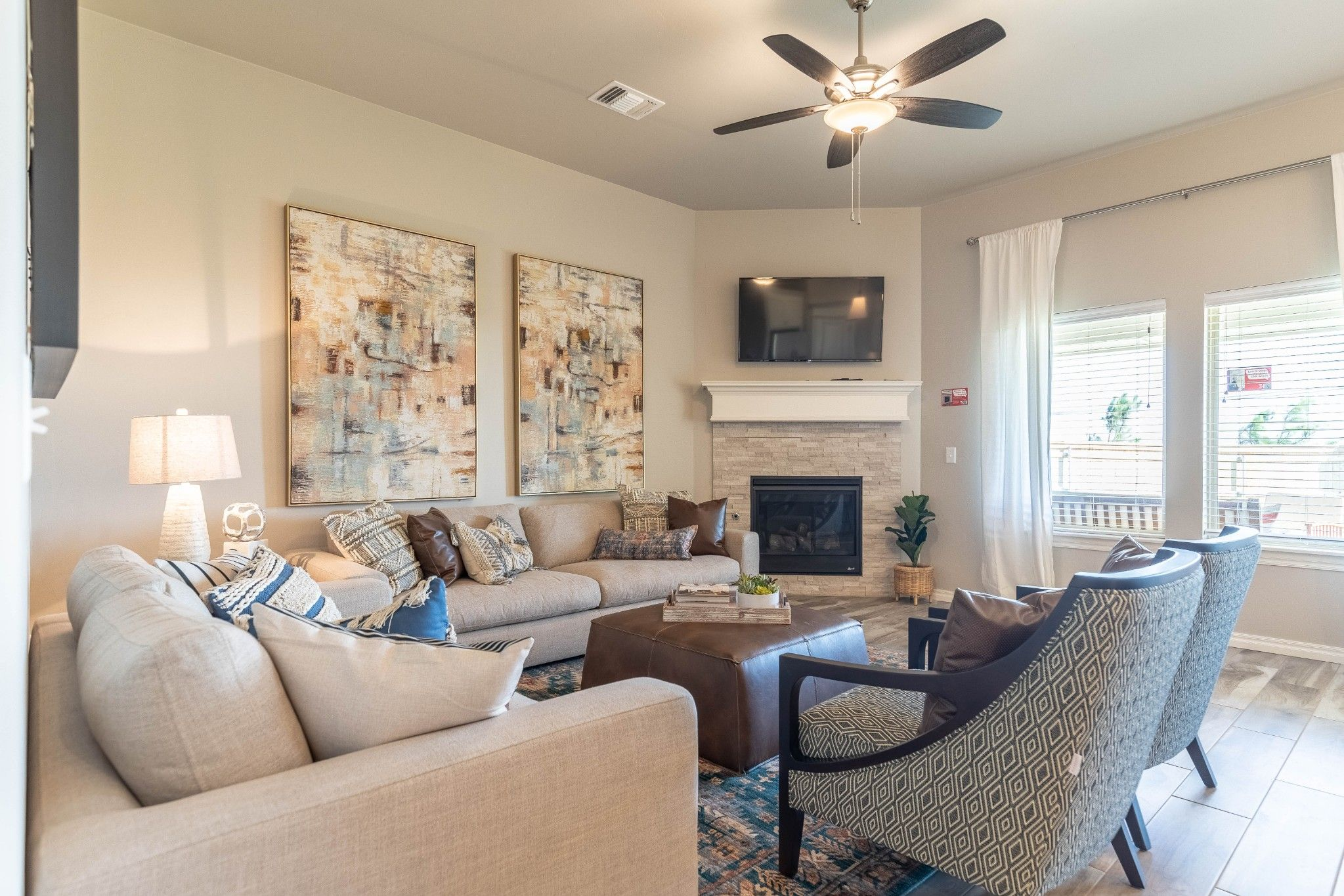 Living Area featured in the Teagen By Homes By Taber in Oklahoma City, OK