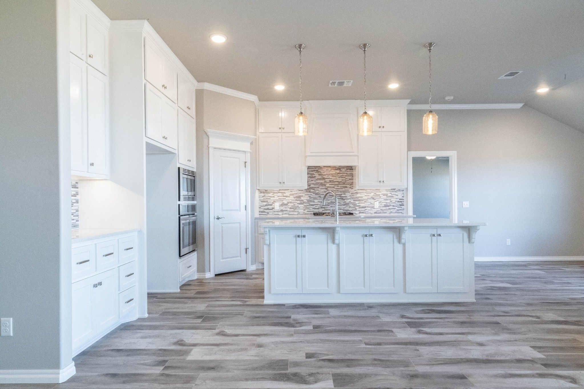 Kitchen featured in the Hazel Half Bath Plus By Homes By Taber in Oklahoma City, OK