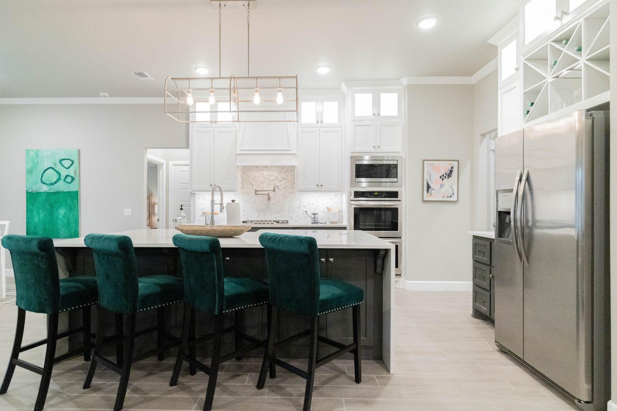 Kitchen featured in the Poppey Bonus Room By Homes By Taber in Oklahoma City, OK