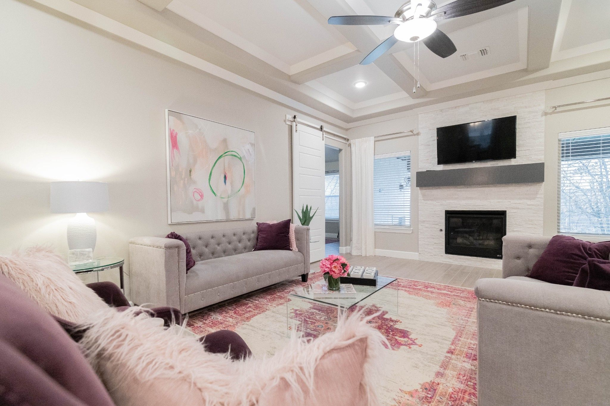 Living Area featured in the Poppey Bonus Room By Homes By Taber in Oklahoma City, OK