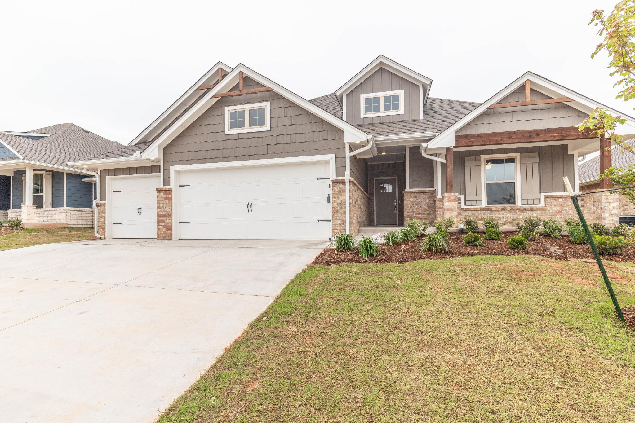 Exterior featured in the Blue Spruce PLUS By Homes By Taber in Oklahoma City, OK